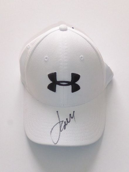Jordan Spieth, signed Under Armour golf cap.